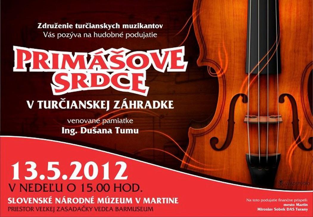 Primášove srdce v Turčianskej záhradke 13.5.2012
